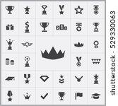 award icons universal set for...   Shutterstock . vector #529330063