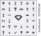 diamond icon. award icons...   Shutterstock . vector #529330168