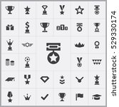 award icons universal set for... | Shutterstock . vector #529330174