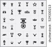 award icons universal set for...   Shutterstock . vector #529330213