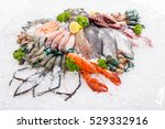 Seafood Fresh Background For...