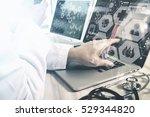 medical technology concept.... | Shutterstock . vector #529344820