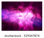 polygonal mosaic background ... | Shutterstock .eps vector #529347874