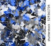 blue marble seamless texture.... | Shutterstock .eps vector #529361734