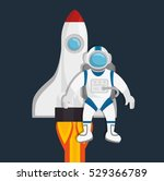 universe planets space concept | Shutterstock .eps vector #529366789