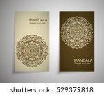 a set of leaflets  brochures ...   Shutterstock .eps vector #529379818