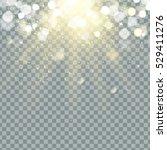 transparent glow light effect.... | Shutterstock .eps vector #529411276