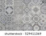 ceramic tiles patterns | Shutterstock . vector #529411369