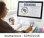 branding brand copyright...   Shutterstock . vector #529422118