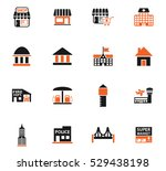 infrastructure web icons for... | Shutterstock .eps vector #529438198