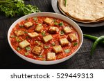 tasty north indian curry dish ... | Shutterstock . vector #529449313