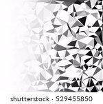 gray white polygonal background ... | Shutterstock .eps vector #529455850