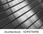 Metal Aluminum Profile Closeup...