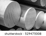 aluminum metal raw material in... | Shutterstock . vector #529475008