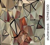 randomly scattered triangles of ...   Shutterstock .eps vector #529481530