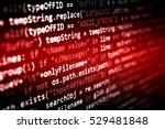 abstract computer programming...   Shutterstock . vector #529481848
