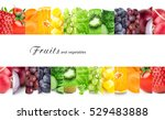 color fruits and vegetables.... | Shutterstock . vector #529483888