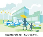 vector illustration. parking ... | Shutterstock . vector #52948591