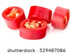 Sliced Red Chili Or Chilli...