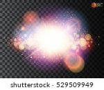 shining star  the sun particles ...   Shutterstock .eps vector #529509949