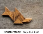 Tangram Puzzle As Fish Shape ...