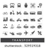 set of transportation icons.... | Shutterstock .eps vector #529519318