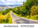 road to mountains. mountain... | Shutterstock . vector #529525264
