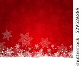 christmas background of... | Shutterstock .eps vector #529526389