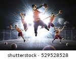 multi persons basketball... | Shutterstock . vector #529528528