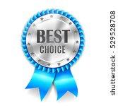best choice award   Shutterstock .eps vector #529528708