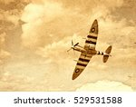 an image of a vintage spitfire...