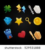 set of app store game icons ...