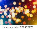 festive background with natural ... | Shutterstock . vector #529559278