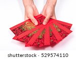 red envelopes for chinese new... | Shutterstock . vector #529574110