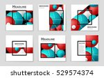 abstract vector layout... | Shutterstock .eps vector #529574374
