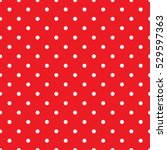 Seamless Small Red Polka Dot...