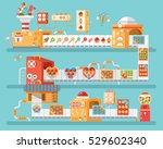 stock vector vertical... | Shutterstock .eps vector #529602340
