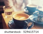 coffee in a hipster atmosphere   Shutterstock . vector #529615714