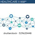 healthcare mechanism concept....   Shutterstock .eps vector #529620448
