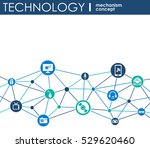 technology mechanism concept.... | Shutterstock .eps vector #529620460