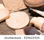 foundation makeup products ... | Shutterstock . vector #529622524