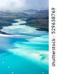 whitsundays from above  east...   Shutterstock . vector #529638769