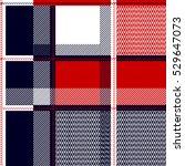 seamless checkered shirt... | Shutterstock .eps vector #529647073