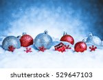 merry christmas and happy new... | Shutterstock . vector #529647103