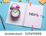 events  business concept | Shutterstock . vector #529659898