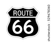 route 66 sign . | Shutterstock .eps vector #529678360