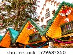Small photo of Traditional (since 1393) Christmas Market in historic center of Frankfurt am Main, Germany