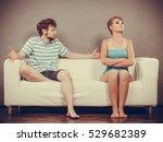 bad relationship concept. man... | Shutterstock . vector #529682389