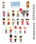 kids and nationalities of the...   Shutterstock .eps vector #529701523
