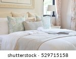 vintage bedroom interior with... | Shutterstock . vector #529715158